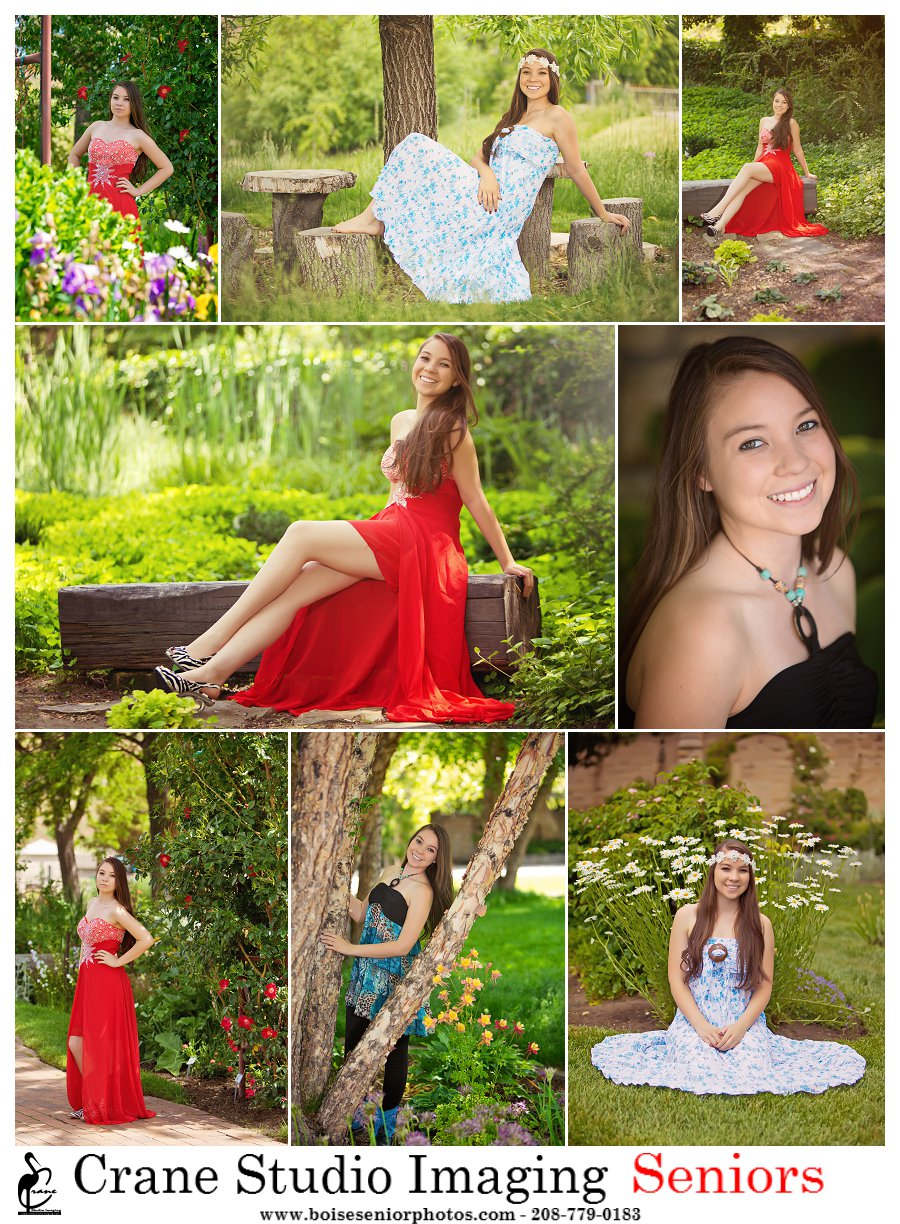 Boise Senior photo session